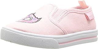 OshKosh B'Gosh Kids Donuts Girl's Embroidered Slip-On Loafer Flat