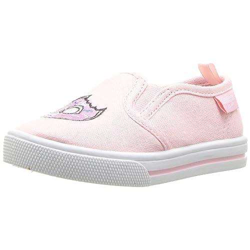 9149b2df4f OshKosh B Gosh Kids Donuts Girl s Embroidered Slip-On Loafer Flat