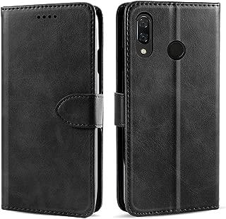 Torubia Case Compatible with BQ Vsmart Active 1 Folio Cover, Phone case Covers Bumper Shell Black