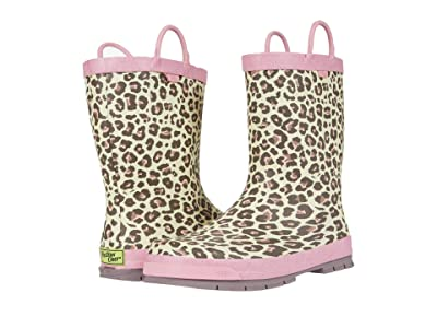 Western Chief Kids Sweet Cheetah Rain Boots (Toddler/Little Kid/Big Kid) (Rose Gold) Girls Shoes