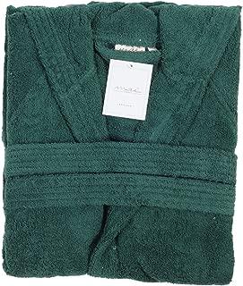 100/% cotone egiziano spugna Collo Sciallato Con Cappuccio Accappatoio colore verde acqua