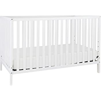 Union 3-in-1 Convertible Crib in White, Greenguard Gold Certified