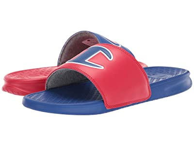 Champion Super Slide Mix Match (Red/Surf The Web) Men
