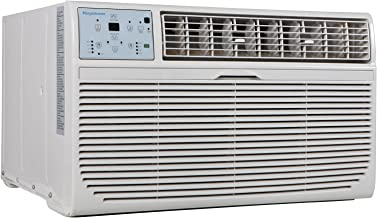 Keystone KSTAT10-2C 10000 BTU 230V Follow Me LCD Remote Control Through-The-Wall Air Conditioner