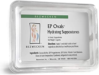 Bezwecken – E.P. Ovals – 16 Oval Suppositories – Same Trusted Formula, New Improved Shape – Professionally Formulated to Alleviate Vaginal Dryness in Menopausal Women
