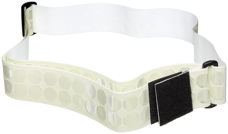 PT BELT BY CYALUME TECHNOLOGIES Reflective Belt White Polymer 9-3012507