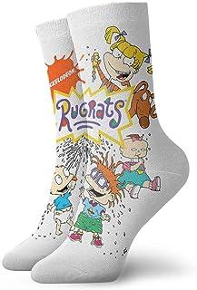 Yuanmeiju calcetines de punto Rugrats Classic Casual Socks Running Socks Men and Women Sports Business Socks