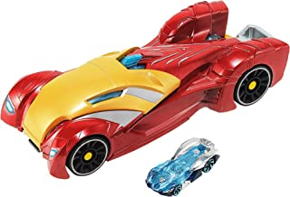 Hot Wheels Marvel Iron Man Vehicle and Launcher - Avengers: End Game