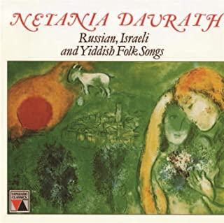 Netania Davrath Sings Russian, Israeli and Yiddish Folk Songs