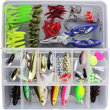KMBEST Fishing Lures Mixed Lots Including Hard Lure...