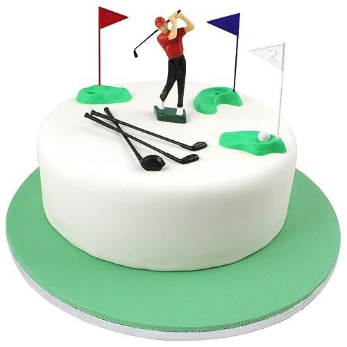 Awe Inspiring Golf Cakes Amazon Com Personalised Birthday Cards Arneslily Jamesorg