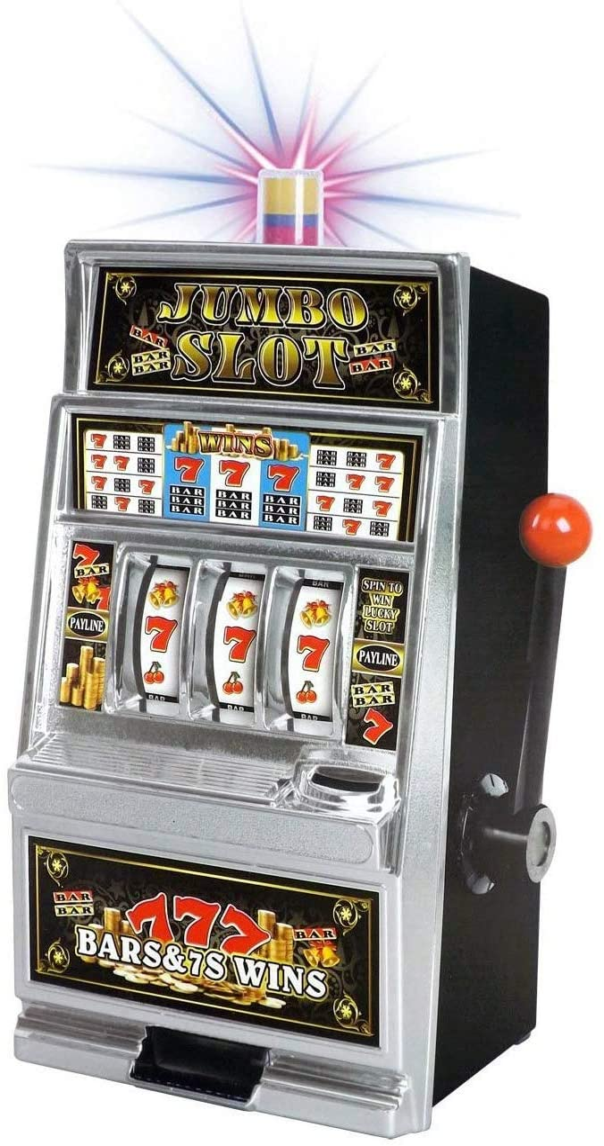 Lucky Max 64% OFF Sevens Jumbo Max 72% OFF Slot Machine Casino wi Toy Replica Bank Piggy