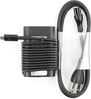 محول DE الأصلي ديل 45W 20V 2.25A 0HDCY5 HDCY5 USB-C AC لـ Dell Latitude 13 7370.