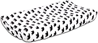 Woodland Dreams Bear Changing Pad Cover by The Peanut Shell