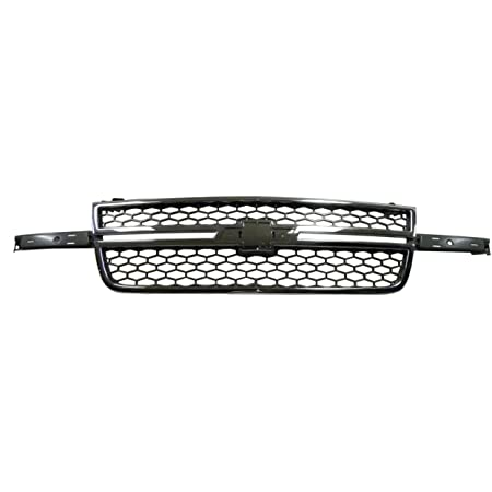 Chevy Pickup Pick Up Truck 03-07 Left Lh Front Grille Car Molding Chrome New