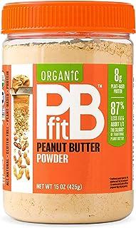 BetterBody Foods PBfit Organic Peanut Butter Powder, 425 gm
