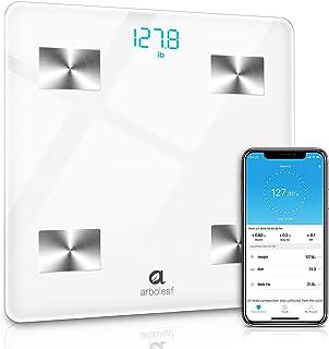 Báscula digital – Inteligente Báscula de baño Impedenciométrica sin cables, Báscula digital Bluetooth inalámbrica para iOS y Android, Analizador de composición 11 índices de medición