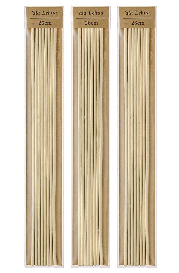 用心ミント巨大なフレーバーライフ(Flavor Life) `ala Lehua (アラレフア) ラタンスティック 詰替え用 8本×3セット