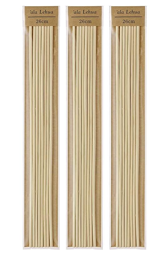 電気技師ロシア囲まれたフレーバーライフ(Flavor Life) `ala Lehua (アラレフア) ラタンスティック 詰替え用 8本×3セット