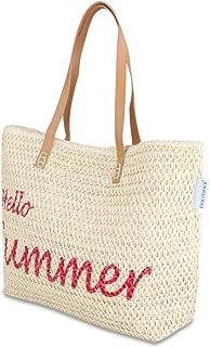 normani Große Strandtasche Badetasche Beachbag für Damen Weekend Bag