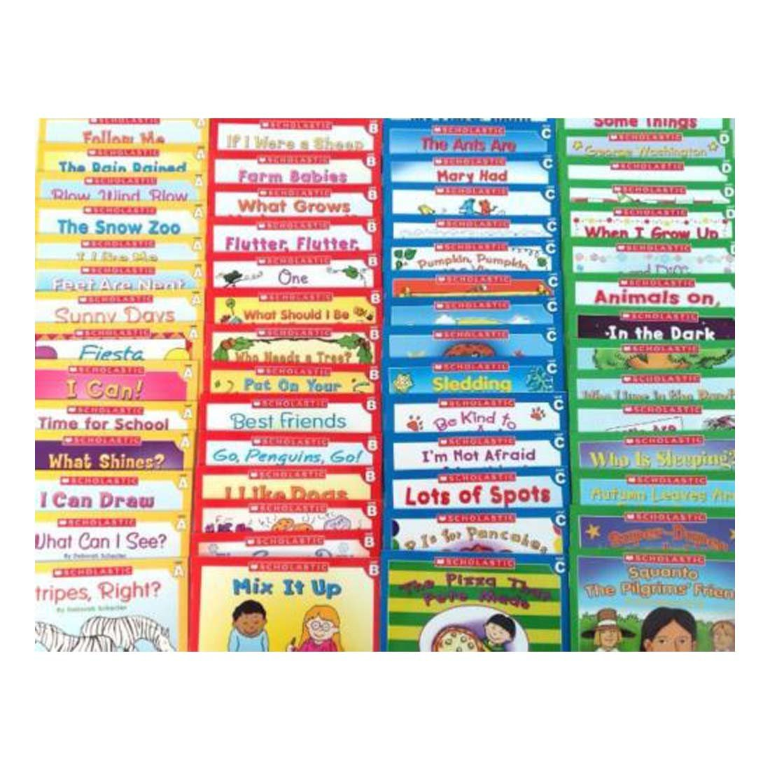 60 Easy Phonics Leveled A B C D Gurided Readers Kindergarten Learn to Read LOT - Complete Learn to Read Set