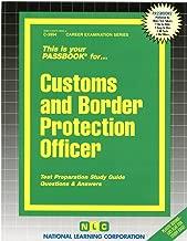 Customs & Border Protection Officer(Passbooks) (Career Examination Passbooks)