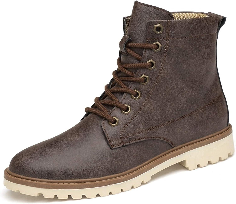 Men Boots Winter Autumn Men Ankle Boots Britain Style shoes Men Boots Lace Up shoes Boots