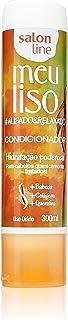 Salon Line 109103 - Condicionador Uso Diário, Meu Liso Alisado e Relaxado, 300ml