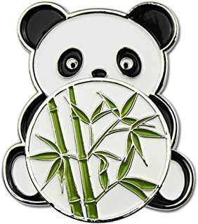 GOLTERS Panda Magnetic Golf Hat Clip with Panda/Bamboo Ball Marker