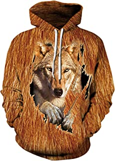 Chaos World Men's Hoodie 3D Print Native American Indian Sweatshirts Ethnic Totem Patterns Pullover
