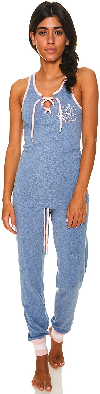 U.S. Polo Assn. Womens Top and Pajama Pants Lounge Sleepwear Set