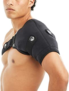 ActiveWrap Shoulder Ice Pack Wrap with Reusable Hot & Cold Packs - Rotator Cuff Ice Therapy - Large/X-Large