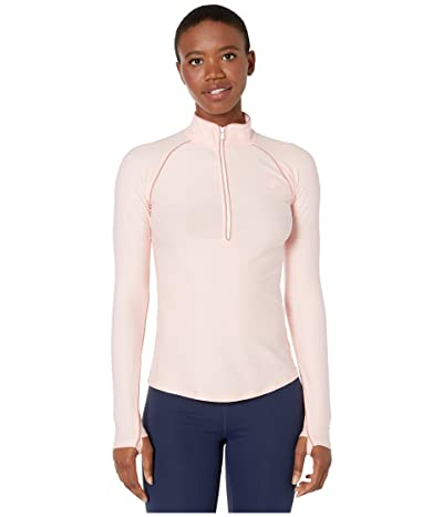 New Balance Transform 1/2 Zip (Peach Soda Heather) Women