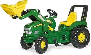 Rolly Toys 046638 - rollyX-Trac John Deere für Kinder von 3 bis 10 Jahren, Sitz verstellbar, Flüsterreifen