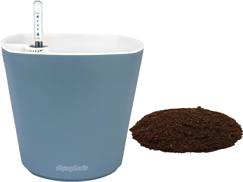"Window Garden Aquaphoric Beauty products Self Watering + 7"" Planter Fiber New color"