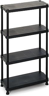 Terry 1230/4 - estanterías para el hogar (Negro, Frame fixation)