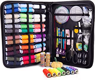 XL Premium Sewing KIT – Complete Needle and Thread Kit for Sewing with 38 Color Threads – Sewing Kits for Adults for Quick...