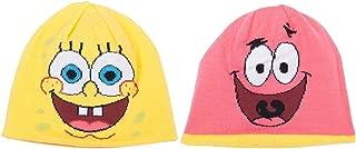 Spongebob Squarepants and Patrick Star Reversible Knit Hat