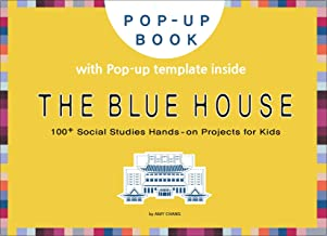 The Blue House: DIY pop-up card making craft books for kids, Korean culture and travel, house of the President (English Ed...