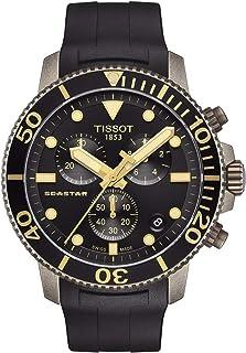Tissot Seastar 1000 C Chronograph Quartz Black Dial Men's Watch T120.417.37.051.01