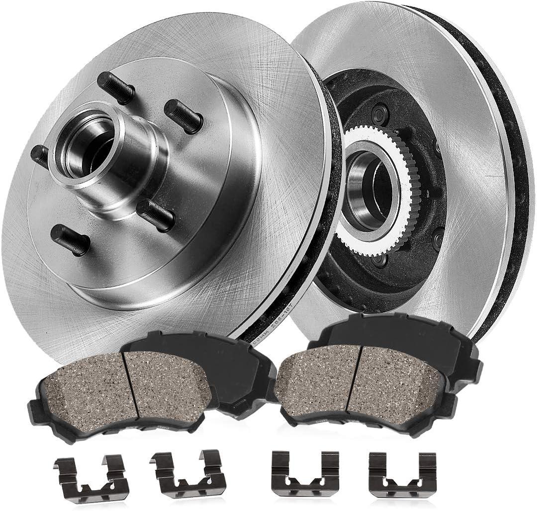 CRK11194 Sales FRONT 267 mm Premium OE 5 2 Lug Rotors + Brake Super popular specialty store Disc