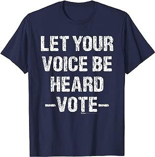 Vintage Let Your Voice Be Election 2018 Vote Democrat 2018