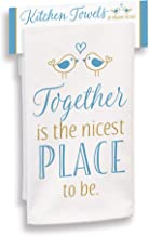 product image for Imagine Design Together is The Nicest Place to Be Towel, Multi