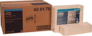Tork 430178 Paper Wiper Plus, Top-Pak, 1-Ply, 13.57