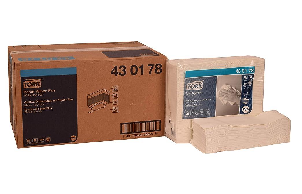 爆発するステープルプレゼンTork 430178用紙ワイパーPlus、top-pak、1-ply、13.57?