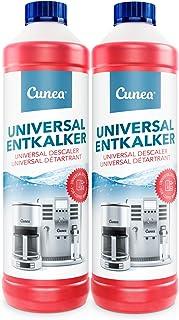 Détartrant Anticalcaire Liquide pour machine à café - 2x 750ml, Anti-calcaire pour toutes les marques Bosch, DeLonghi, Jur...