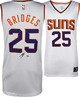Mikal Bridges Phoenix Suns Autographed Fanatics White Fastbreak Jersey - Fanatics Authentic Certified
