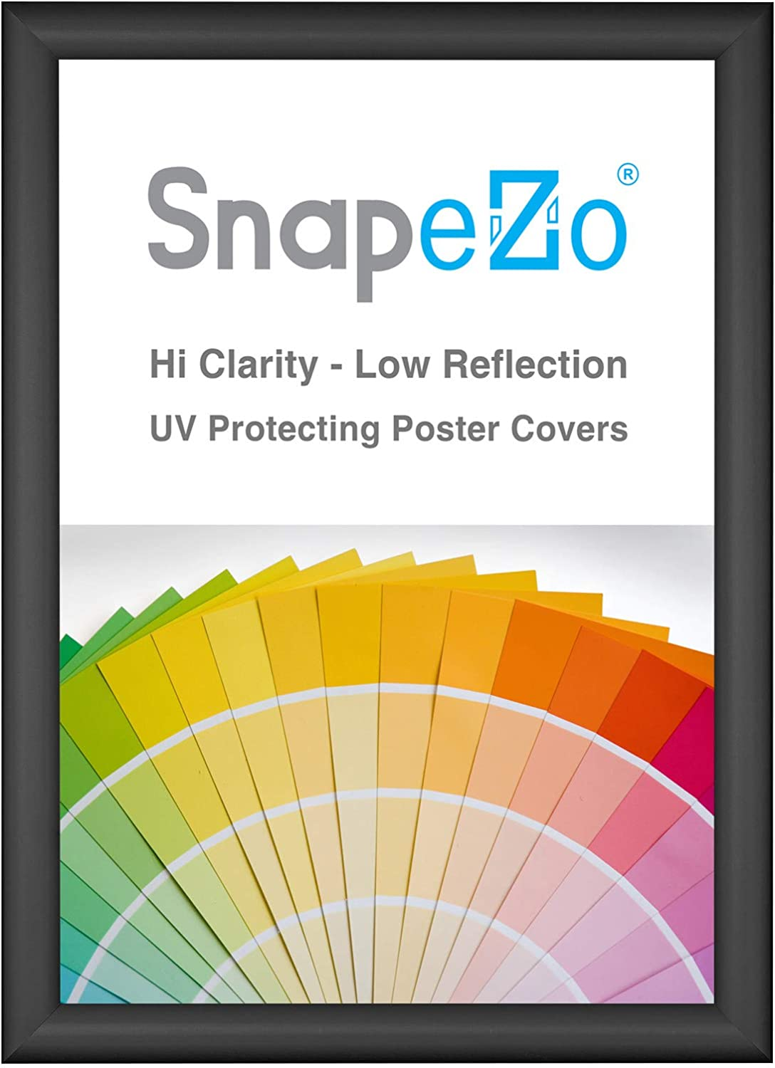 SnapeZo Poster Frame A2 Size 16.5 Limited price sale 23.4 inches Bombing new work Black x 1 Inch
