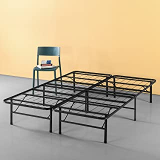 Zinus Callie 14 Inch Classic SmartBase Mattress Foundation / Platform Bed Frame / Box Spring Replacement / Quiet Noise-Free / Under-bed Storage, Queen