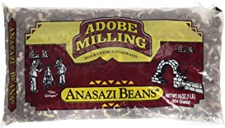 Adobe Milling Dried Anasazi Beans 16oz Bag (Pack of 6)